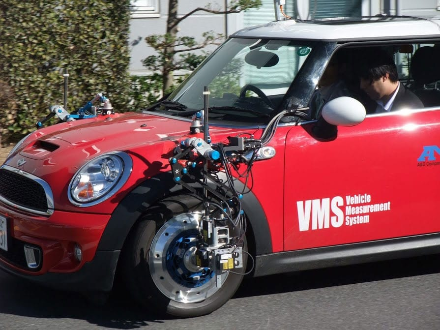 University of Waterloo Uses A&D's VMS in Vehicle Modeling